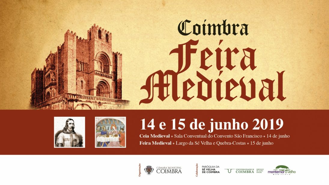Viaje à Idade Média nos dias 14 e 15 de junho com a 27.ª Feira Medieval de Coimbra