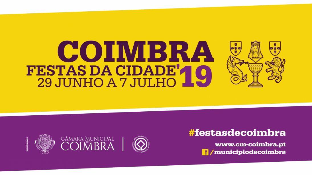 Coimbra em festa de 29 de junho a 7 de julho com Ana Moura, HMB, Miguel Araújo e muito mais