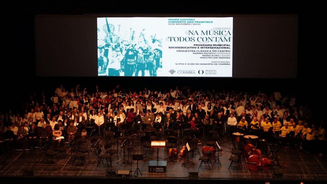 Câmara atribui apoio de 50 mil euros para levar projetos de música e teatro às escolas e IPSS