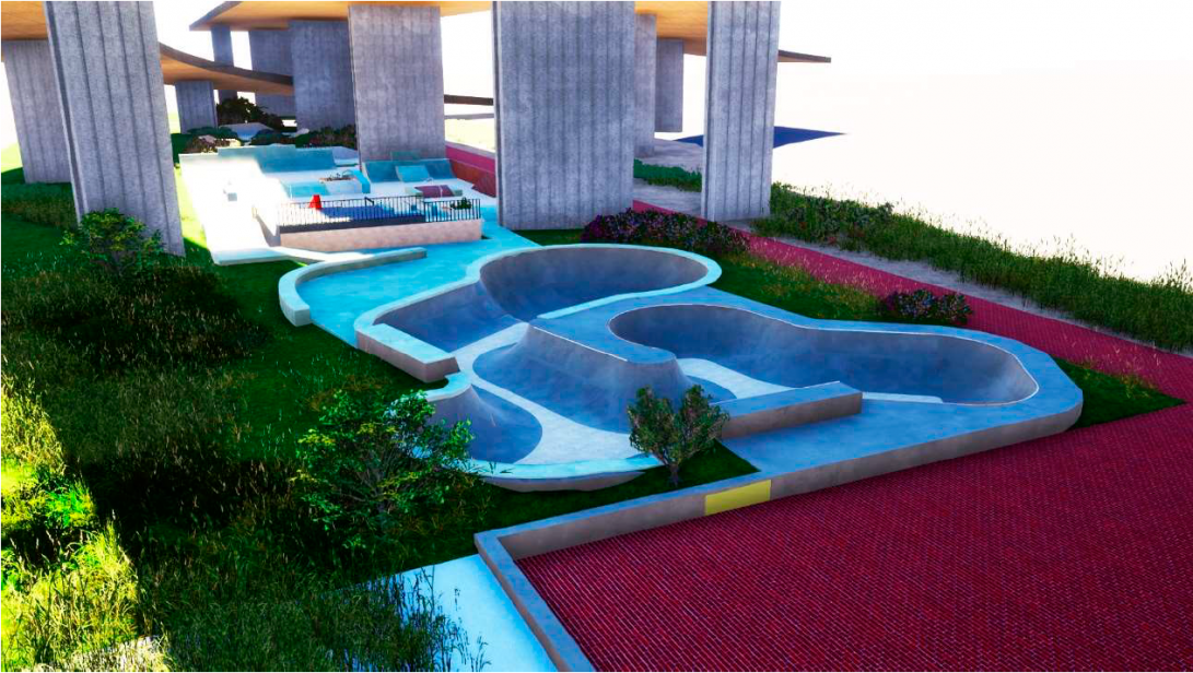 Coimbra vai ter um Parque Municipal de Skate junto ao Rio Mondego