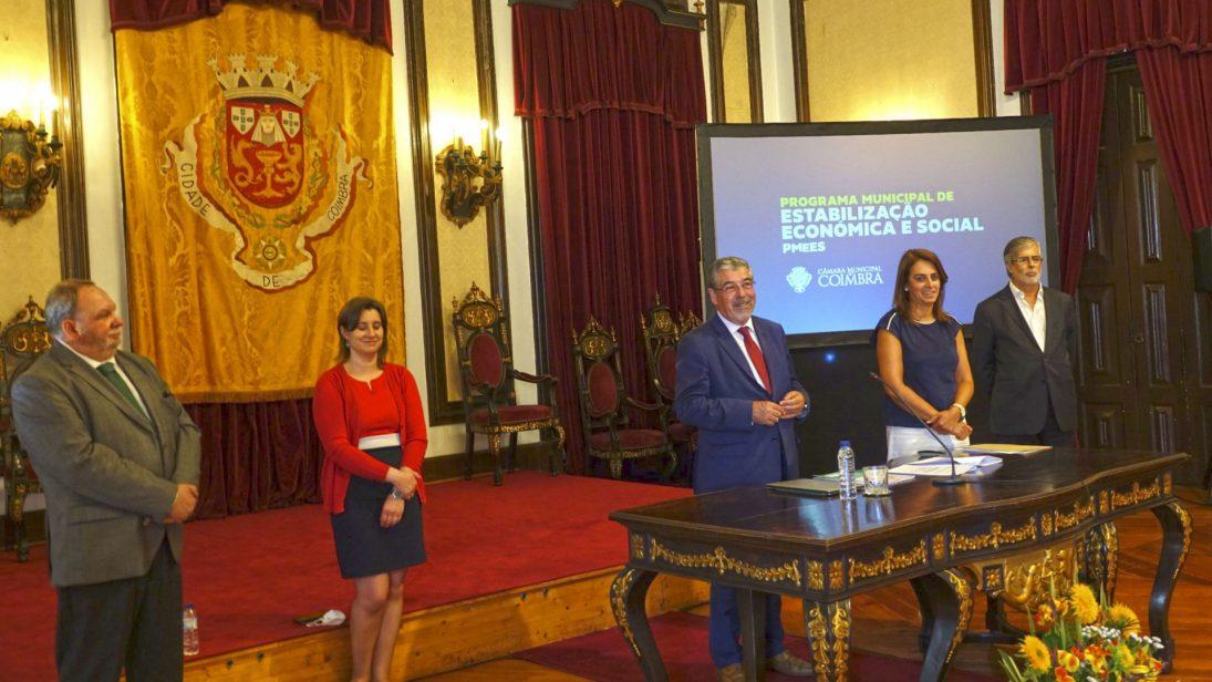Programa Municipal de Estabilização Económica e Social prevê investimento público de 16M€