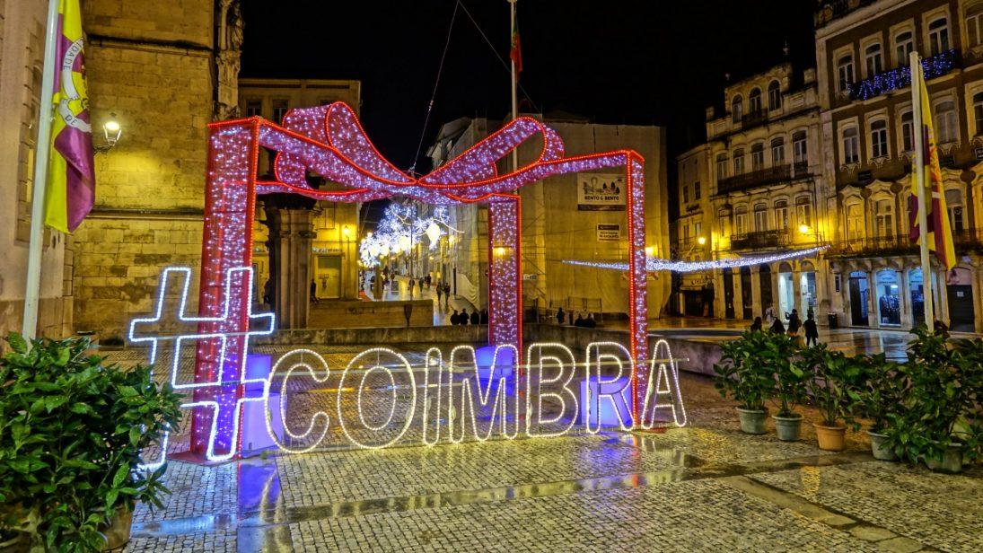 Coimbra mais atrativa com 420 mil luzes de Natal ainda no mês de novembro