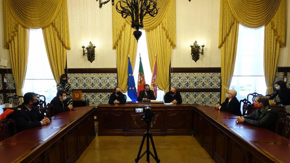 CM Coimbra apoia Bombeiros Voluntários com 100 mil euros