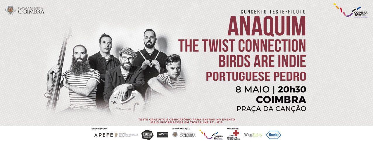Coimbra recebe concerto teste-piloto dia 8 de maio