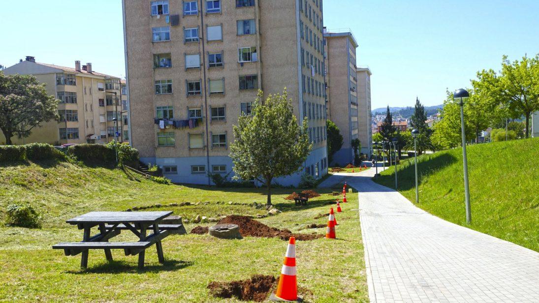 Reabilitados espaços verdes na Quinta da Maia