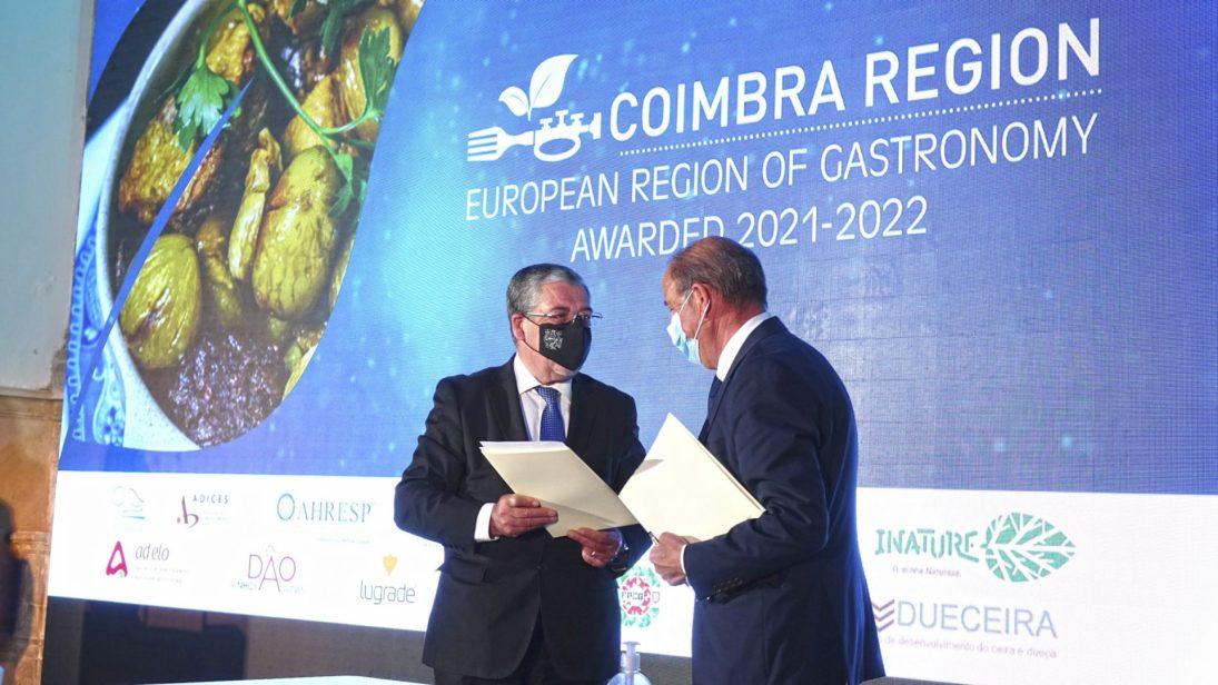 Coimbra é oficialmente Região Europeia da Gastronomia 2021