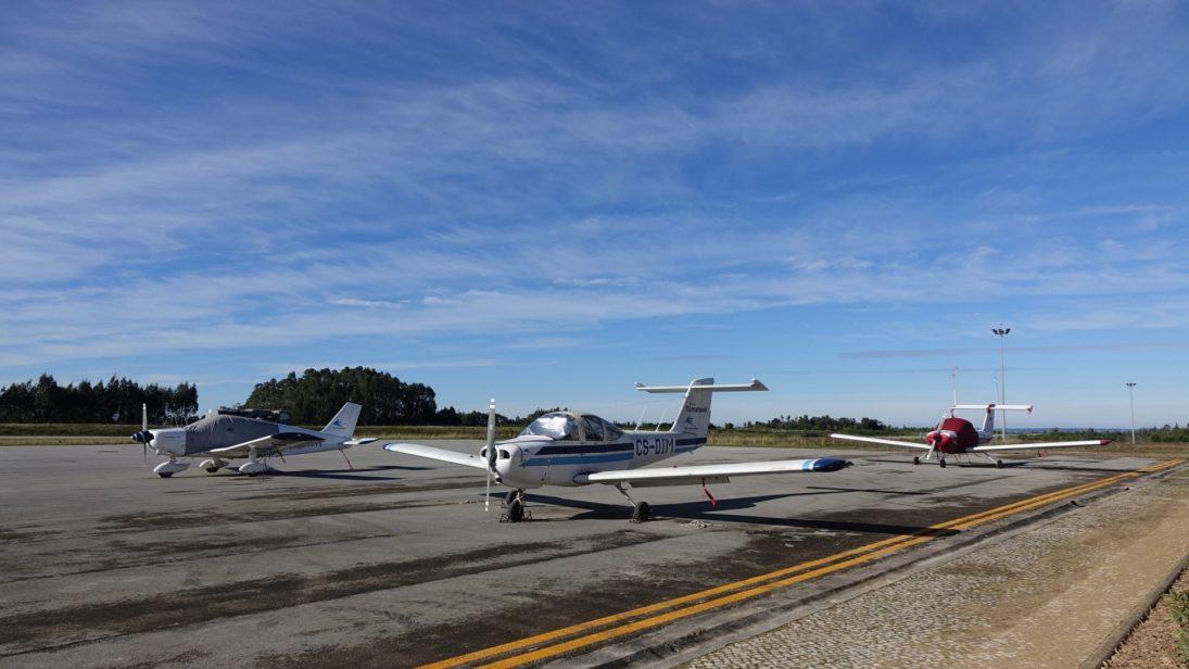 Aeródromo Bissaya Barreto recebe testes de tecnologia inovadora em segurança aeronáutica criada em Coimbra