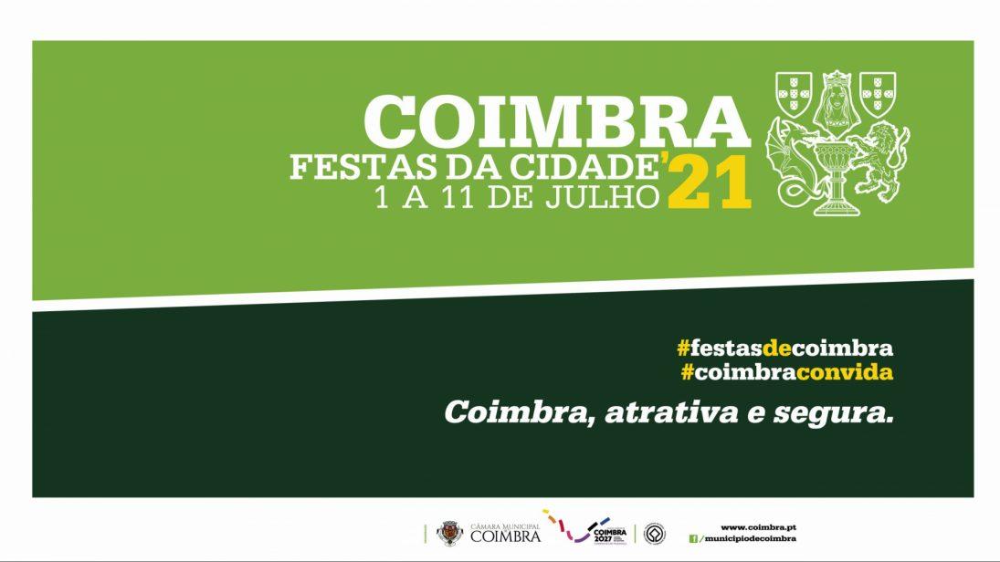 Festas da Cidade de Coimbra, de 1 a 11 de julho, em segurança e com concertos descentralizados