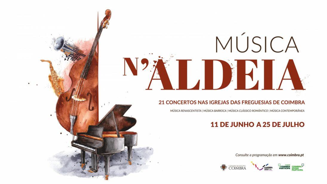 Coimbra promove ciclo de concertos nas igrejas das freguesias nos próximos dois meses