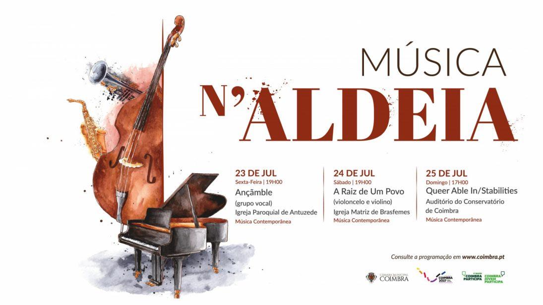 """""""Música n'Aldeia"""" termina este fim de semana com balanço muito positivo"""