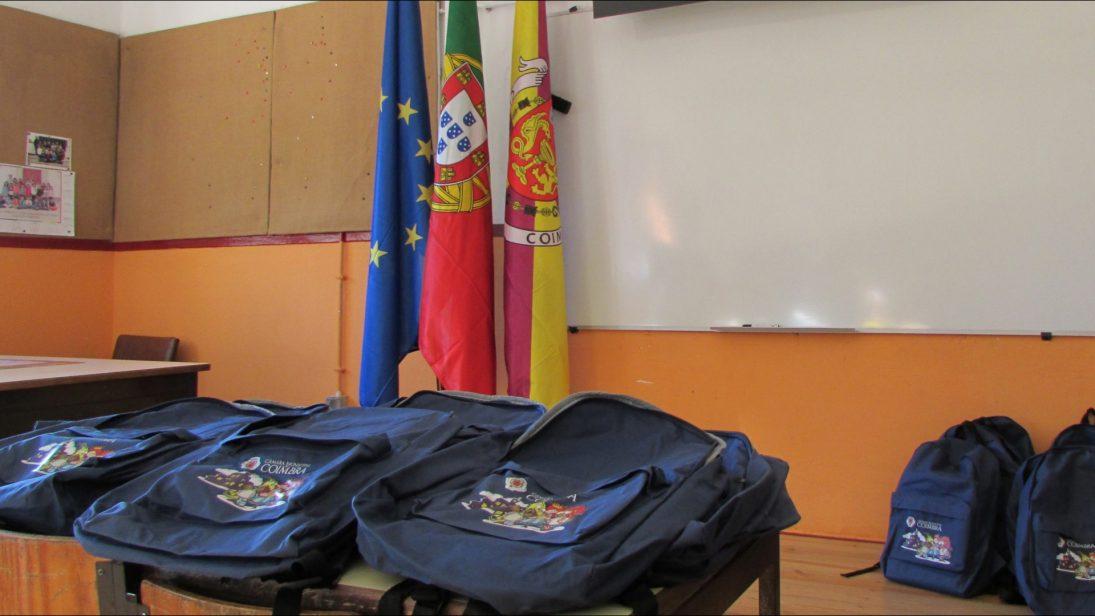 Câmara de Coimbra reforça escolas com 56 auxiliares de ação educativa