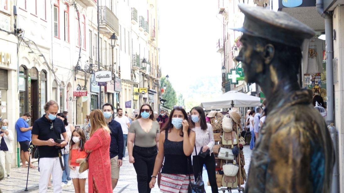 Mostra de Estátuas Vivas foi um sucesso na Baixa de Coimbra e volta em 2022